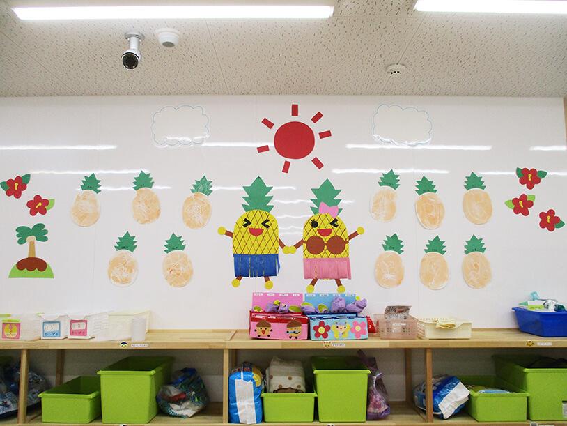 茨城県つむぎ保育園龍ヶ崎園 室内飾り写真