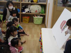 茨城県つむぎ保育園龍ヶ崎園 お誕生日会写真