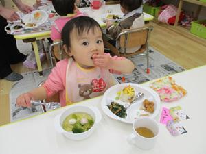 茨城県つむぎ保育園龍ヶ崎園 ひなまつり写真