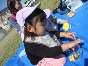 茨城県つむぎ保育園龍ヶ崎園 ピクニック写真