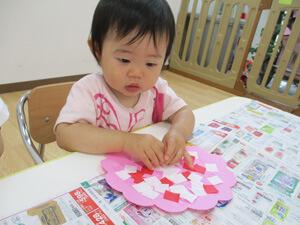 茨城県つむぎ保育園龍ヶ崎園 室内保育工作写真