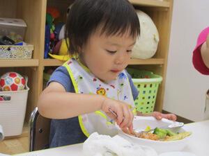 茨城県つむぎ保育園龍ヶ崎園 給食イベント写真