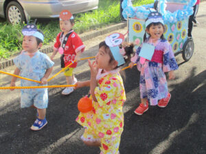 茨城県つむぎ保育園龍ヶ崎園 夏祭り写真