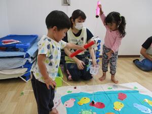 茨城県つむぎ保育園龍ヶ崎園 室内保育写真