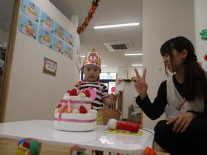 茨城県つむぎ保育園龍ヶ崎園 お誕生日写真