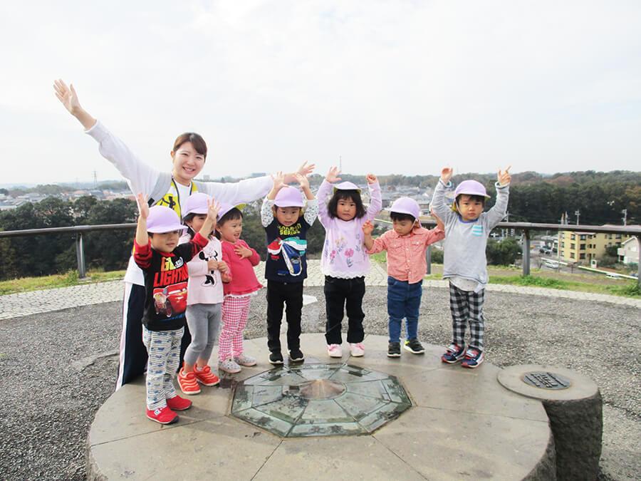 茨城県つむぎ保育園龍ヶ崎園 バス遠足写真