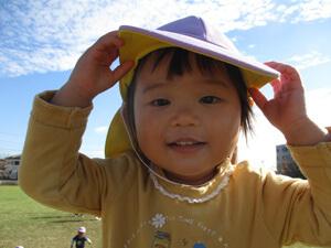 茨城県つむぎ保育園龍ヶ崎園 戸外遊び写真