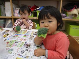茨城県つむぎ保育園龍ヶ崎園 食育写真