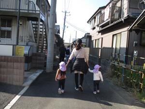 茨城県つむぎ保育園龍ヶ崎園 電車遠足写真