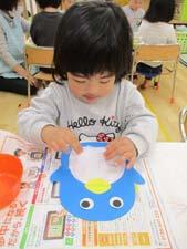 茨城県つむぎ保育園龍ヶ崎園 工作、制作こども写真