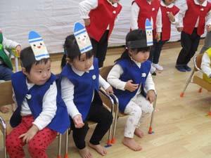 茨城県つむぎ保育園龍ヶ崎園 お遊戯遊びこども写真