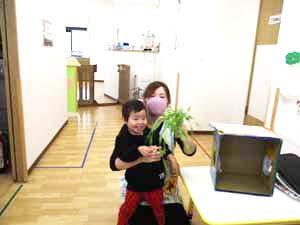 茨城県つむぎ保育園龍ヶ崎園 食育の日こども写真