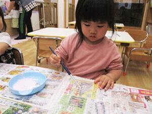 茨城県つむぎ保育園龍ヶ崎園 制作写真