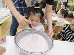 茨城県つむぎ保育園龍ヶ崎園 こども料理写真